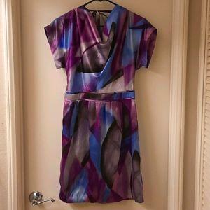 Walter by Walter Baker Purple Multi-color Dress